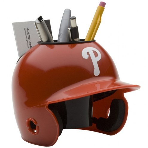 Philadelphia Phillies Schutt Batting Helmet Desk Caddy