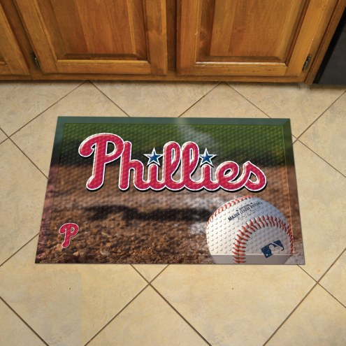 Philadelphia Phillies Scraper Door Mat