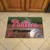 Philadelphia Phillies Scraper Door Mat