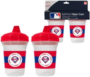 Philadelphia Phillies Sippy Cup - 2 Pack