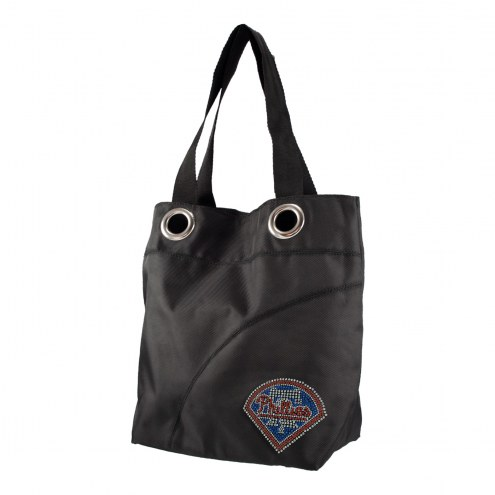 Philadelphia Phillies Sport Noir Sheen Tote