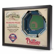 Philadelphia Phillies 25-Layer StadiumViews 3D Wall Art