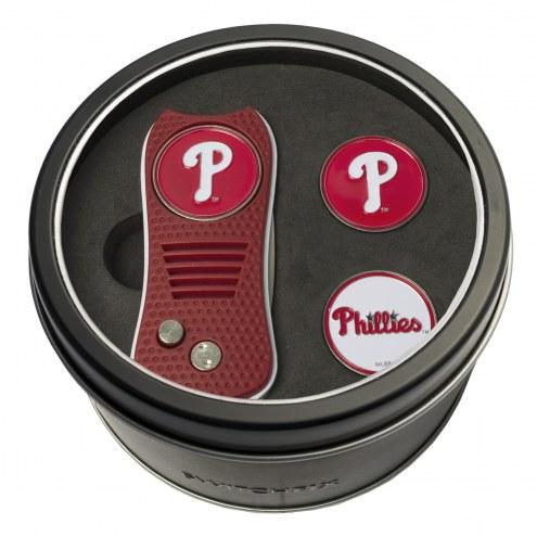 Philadelphia Phillies Switchfix Golf Divot Tool & Ball Markers