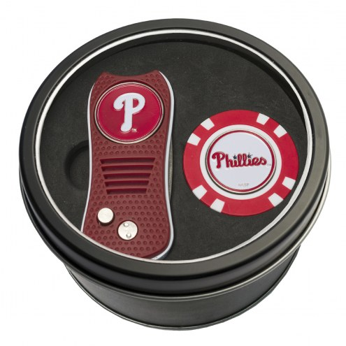 Philadelphia Phillies Switchfix Golf Divot Tool & Chip