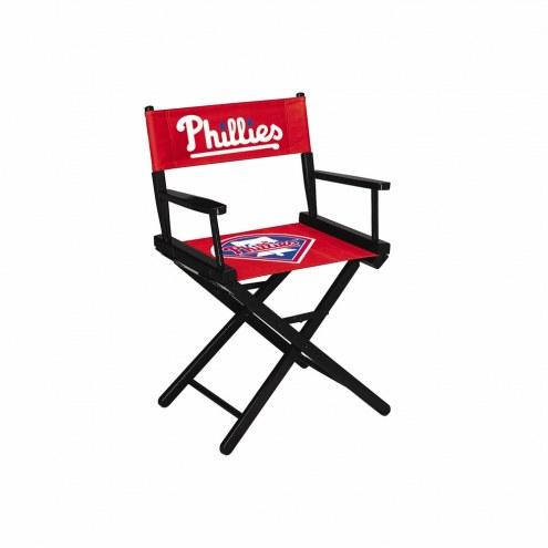 Philadelphia Phillies Table Height Director's Chair