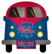 Philadelphia Phillies Team Bus Sign