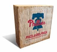 Philadelphia Phillies Team Logo Block