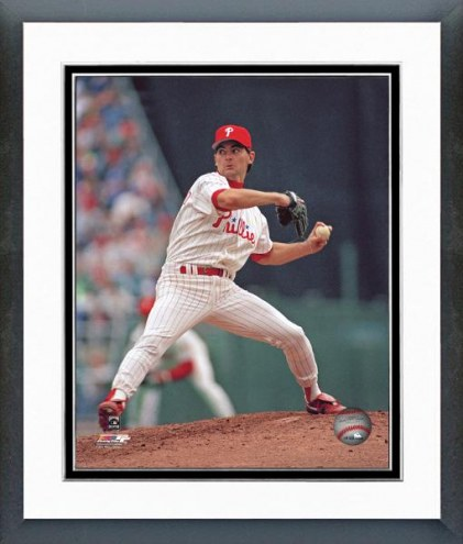 Philadelphia Phillies Terry Mulholland Action Framed Photo