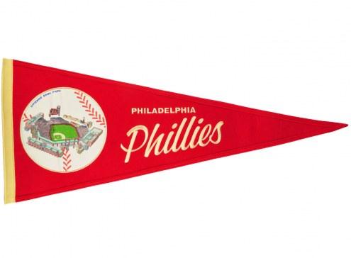 Philadelphia Phillies Vintage Ballpark Traditions Pennant