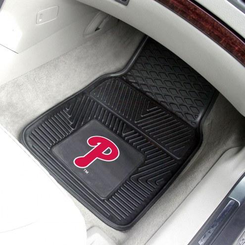 Philadelphia Phillies Vinyl 2-Piece Car Floor Mats