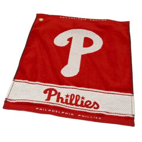 Philadelphia Phillies Woven Golf Towel