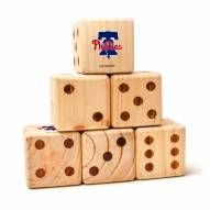 Philadelphia Phillies Yard Dice
