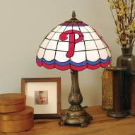 Philadelphia Phillies MLB Stained Glass Table Lamp