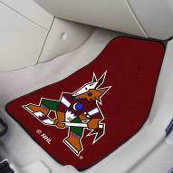 Arizona Coyotes 2-Piece Carpet Car Mats