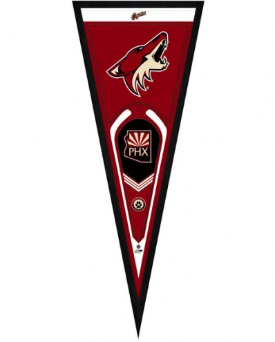 Arizona Coyotes Framed Pennant