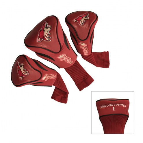 Arizona Coyotes Golf Headcovers - 3 Pack