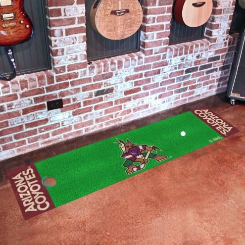 Arizona Coyotes Golf Putting Green Mat