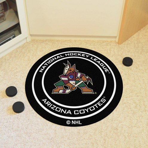 Arizona Coyotes Hockey Puck Mat
