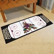 Arizona Coyotes Hockey Rink Runner Mat