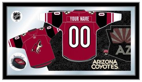Arizona Coyotes Personalized Jersey Mirror