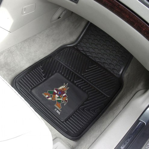 Arizona Coyotes Vinyl 2-Piece Car Floor Mats