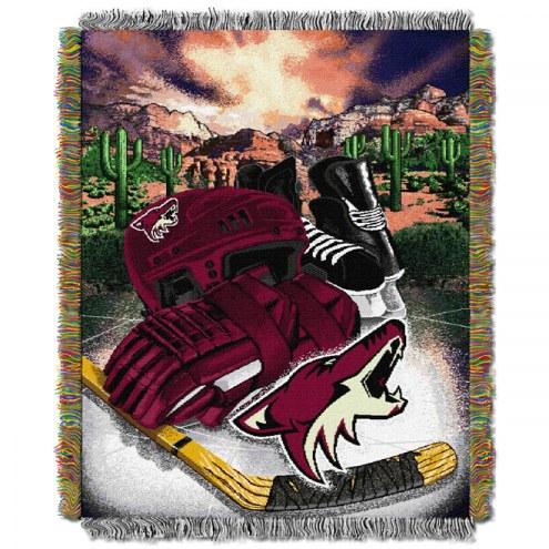 Arizona Coyotes Woven Tapestry Throw Blanket