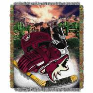 Arizona Coyotes Woven Tapestry Throw Blanket