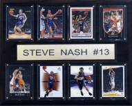 """Phoenix Suns 12"""" x 15"""" Steve Nash 8 Card Plaque"""