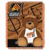 Phoenix Suns Half Court Baby Blanket