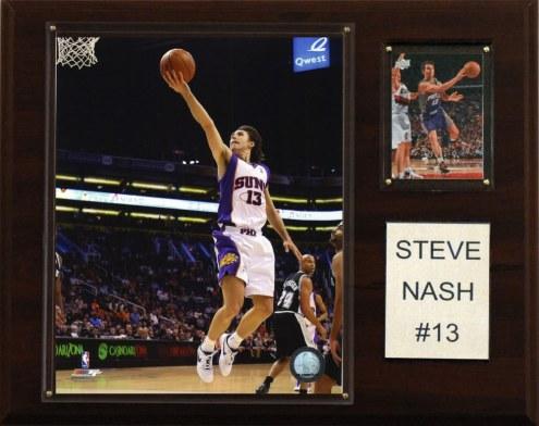 """Phoenix Suns Steve Nash 12"""" x 15"""" Player Plaque"""