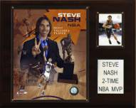 "Phoenix Suns Steve Nash 2 Time NBA MVP 12"" x 15"" Player Plaque"