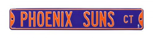 Phoenix Suns Street Sign