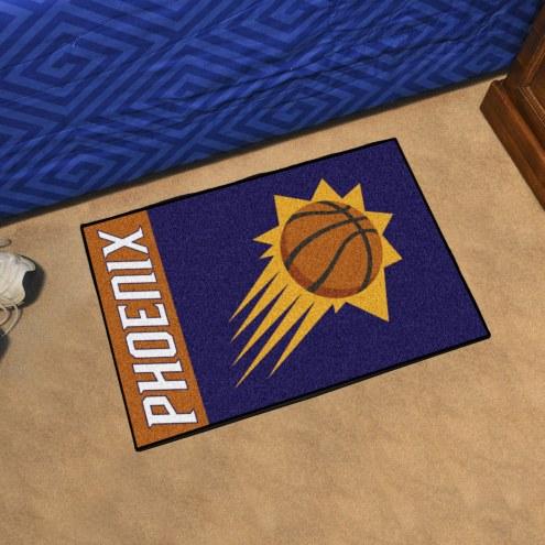 Phoenix Suns Uniform Inspired Starter Rug