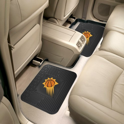 Phoenix Suns Vinyl 2-Piece Rear Floor Mats