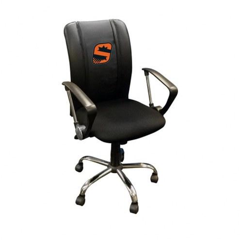 Phoenix Suns XZipit Curve Desk Chair with S Logo