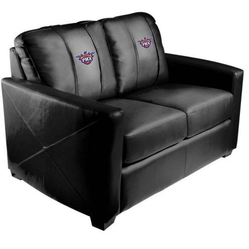 Phoenix Suns XZipit Silver Loveseat with Secondary Logo