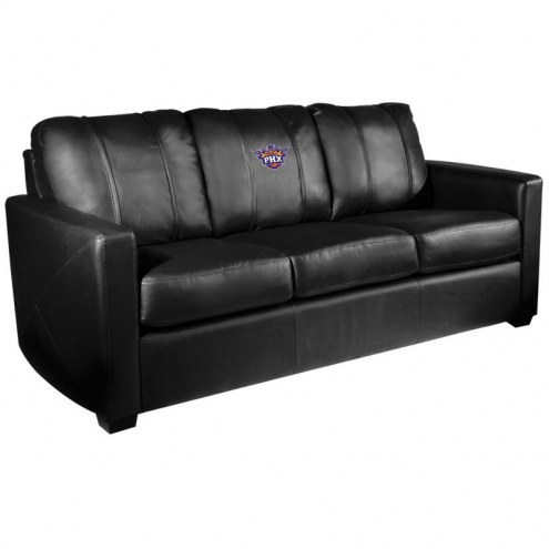 Phoenix Suns XZipit Silver Sofa with Secondary Logo