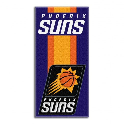 Phoenix Suns Zone Read Beach Towel