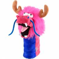Pink Dragon Golf Driver Head Cover