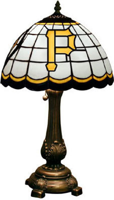 Pittsburgh Pirates MLB Stained Glass Table Lamp