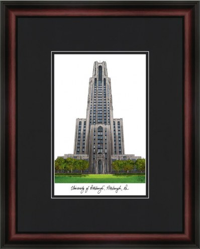 University of Pittsburgh Academic Framed Lithograph