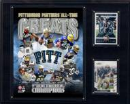 """Pittsburgh Panthers 12"""" x 15"""" All-Time Greats Photo Plaque"""
