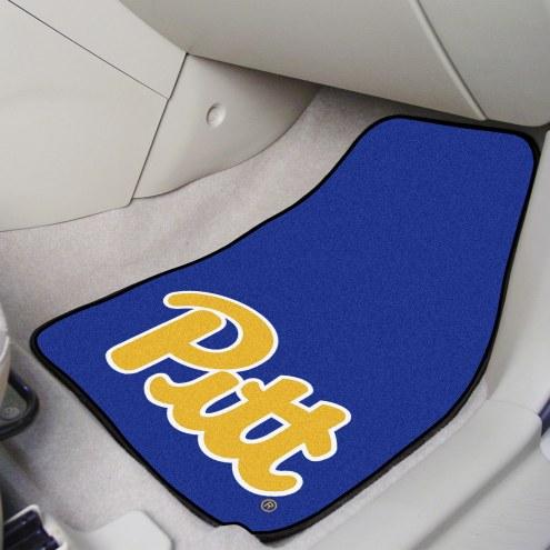Pittsburgh Panthers 2-Piece Carpet Car Mats