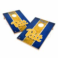 Pittsburgh Panthers 2' x 3' Vintage Wood Cornhole Game
