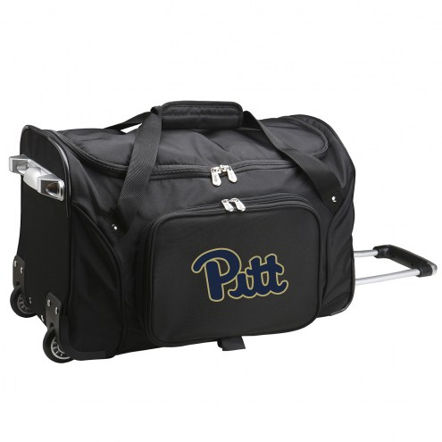 """Pittsburgh Panthers 22"""" Rolling Duffle Bag"""