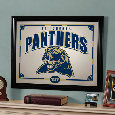 "Pittsburgh Panthers 23"" x 18"" Mirror"