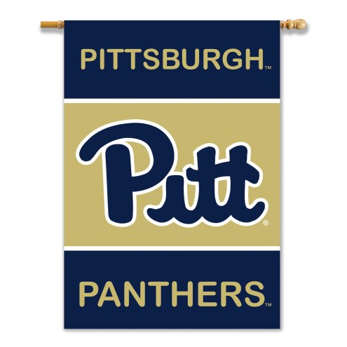 """Pittsburgh Panthers 28"""" x 40"""" Banner"""