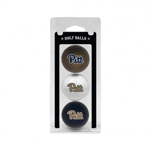 Pittsburgh Panthers 3 Pack of Golf Balls