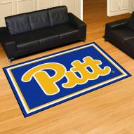 Pittsburgh Panthers 5' x 8' Area Rug