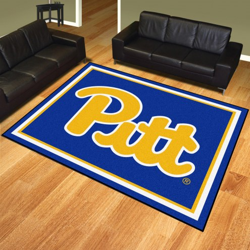 Pittsburgh Panthers 8' x 10' Area Rug